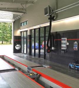 Okręgowa Stacja Kontroli Pojazdów, Wagner Sevice, hala obsługi klienta, Gizycko