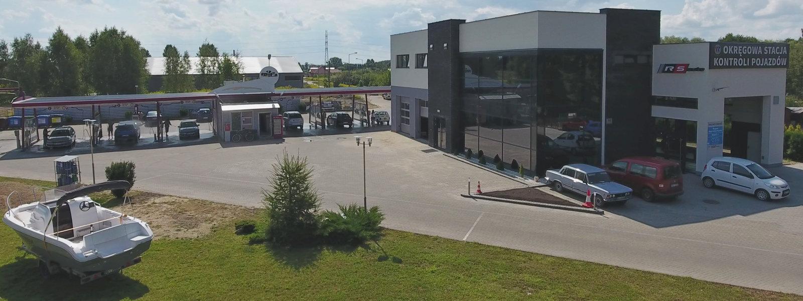 Okręgowa Stacja Kontroli Pojazdów, bezdotykowa myjnia samochodowa,Wagner Service Giżycko