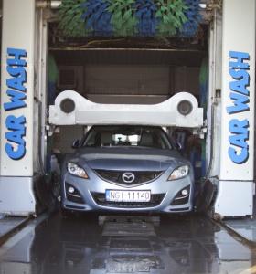 Tunelowa Myjnia samochodowa, Wagner Service, auto serwis Giżycko