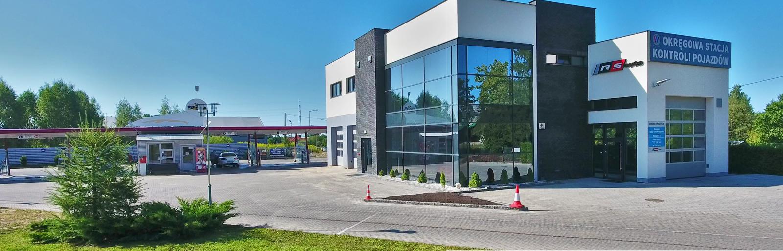 Okręgowa Stacja Kontroli pojazdów Wagner Service w Gizycku